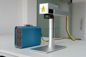 Key Chain Photo Frame 20 Watt Metal Laser Marking Machine/Fiber Laser Marking Price pictures & photos