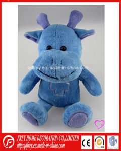 Hot Sale Promotional Gift Plush Toy of Stuffed Hippo pictures & photos