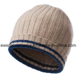 Winter Warm Cashmere Knitted Beanie pictures & photos