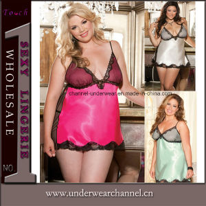 Lady Women Sexy Lingerie Sleepwear Panties Plus Size Underwear (TSW6129) pictures & photos