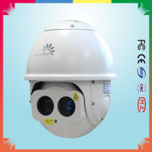 PTZ Outdoor IR Laser Dome Camera with 808nm Night Vision 300m pictures & photos