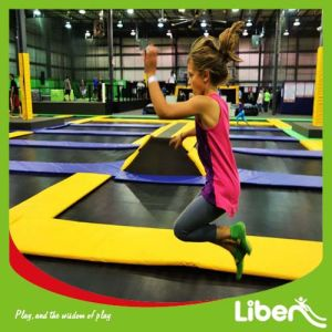 Professional Gym Olympic Trampoline Park with Dogeballs pictures & photos