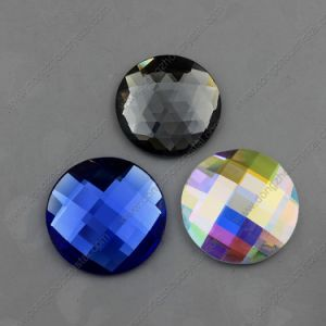 Wholesale 30mm Round Glass Stone Flat Back Jewelry Accessories pictures & photos