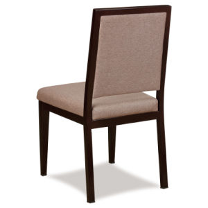 Classy Wood Look Aluminum Restaurant Dining Chairs pictures & photos