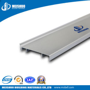 Wall to Floor Flexible Aluminum Material White Skirting Boards pictures & photos