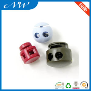 Various Color Plastic Nylon Cord Lock for Garments