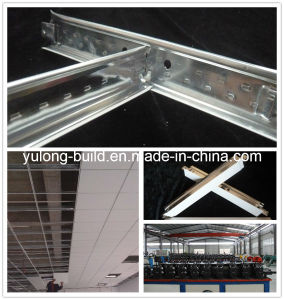 32h Ceiling T-Grid for PVC Gypsum Ceiling & Mineral Fiber Ceiling pictures & photos