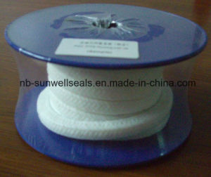 Pure PTFE Braided Packing with No Oil (SUNWELL P101) pictures & photos