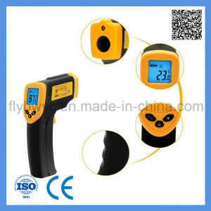 Digital LCD Non-Contact Gun Shape Industrial Pyrometer Infrared Laser IR Infrared Thermometer pictures & photos