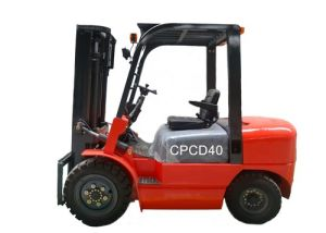 4 Tons Hydraulic Diesel Forklift pictures & photos