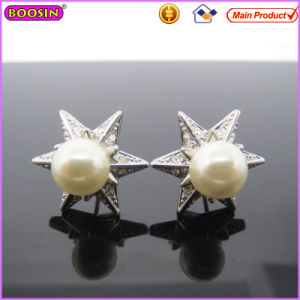 Starfish Shape Pearl Women Earrings Receive OEM/ODM (22029) pictures & photos