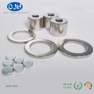 Strong Permanent N40 Nickel Block Neodymium Magnet pictures & photos