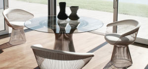 Product Name: Warren-Platner-Gold-Arm-Chair pictures & photos