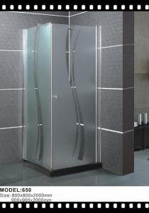 Wholesale Sliding Shower Entry Door Glass Shower Enclosure pictures & photos