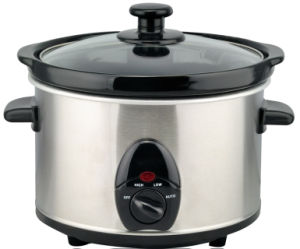 2.5L Stainless Steel Housing Mechanical Slow Cooker pictures & photos