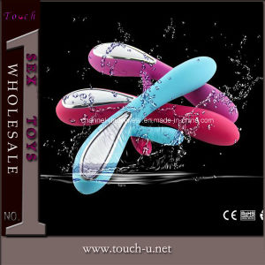 High Classic Silicone Vibrator Sex Toy Adult Toy (TAYL195) pictures & photos