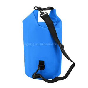 New 5L PVC+Wire Waterproof Dry Bag Backpack for Swimming Tarpaulin Bag pictures & photos