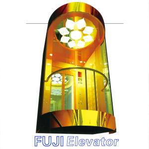 FUJI Full Glass Panoramic Elevator pictures & photos