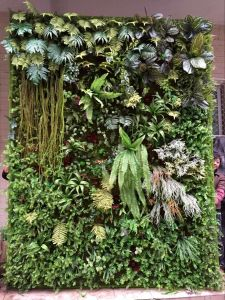 Customized Evergreen Artificial Plants Grass Wall for Wall Decoration pictures & photos