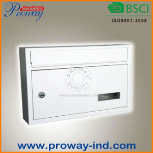 High Quality Metal Letter Box Outdoor Postbox pictures & photos