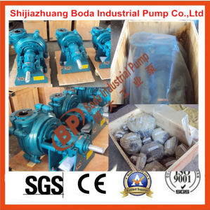 Rubber Centrifugal Anti-Corrosive Mining Slurry Pump Made in China pictures & photos
