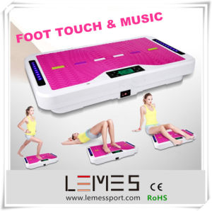 Music Electronics Swing Vibration Plate Foot Touch Crazy Fit Massager pictures & photos