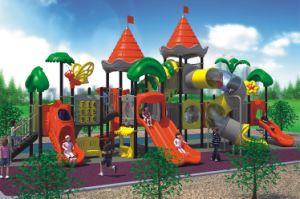 Kaiqi Fantastic Castle Themed Large Children′s Playground with Slides pictures & photos