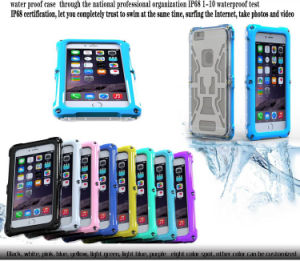 Defender IP-68 Swimming Waterproof Case for iPhone6 Plus pictures & photos
