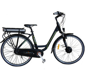 Carrier Battery Electric City Bicycle pictures & photos