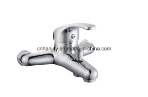 Wall Mounted Single Handle Bathtub Faucet (H19-102) pictures & photos