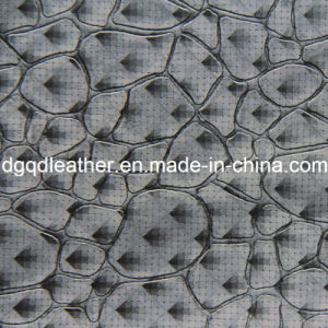 Fashion Stone Pattern Decoration Furniture Leather (QDL-51384) pictures & photos