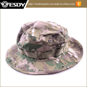 Fisherman Bucket Outdoor Camping Hiking Travel Mountaineering Sunshade Bonnie Hat pictures & photos