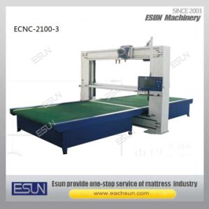 CNC Vertical Single Blade Foam Cutting Machine pictures & photos