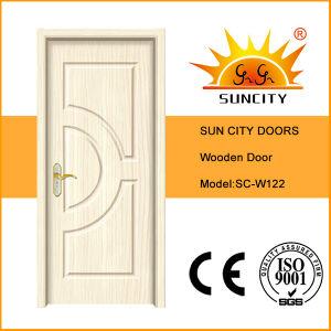 Cheap Doors Interior Solid Wood Door (SC-W122) pictures & photos