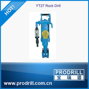 Yt24 Yt27 Yt28 Pneumatic Air Leg Rock Drill for Mining pictures & photos