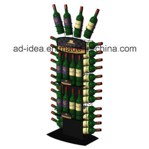 Three Sides Useful Display Stand / Exhibition Stand for Wine Presentation pictures & photos