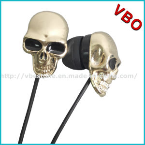 Fashion Jewelry Earphone and MP3 Music Player MP3 MP4 Skull Earphones pictures & photos