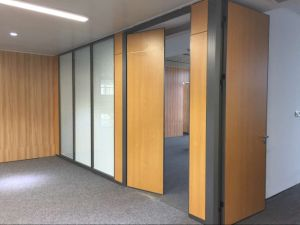 Demountable Wall with Solid Panel Finishing pictures & photos