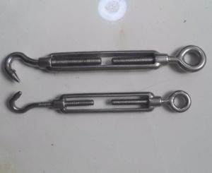 Commercial Type Malleable Turnbuckle Hook and Eye for Fastener pictures & photos