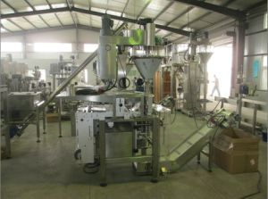 Automatic Vertical Form Fill and Seal Powder Packing Machine pictures & photos