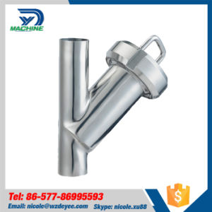 Stainless Steel Food Grade Butt Weld Y Type Strainer pictures & photos