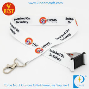 Wholesale High Quality Customized Logo Heat Transfer Printed Lanyard pictures & photos
