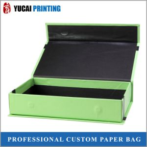 2.0mm Cardboard Box Green Box Gift Paper Box pictures & photos