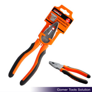 Good Quality Combination Plier with TPR Handle (T03025-C)