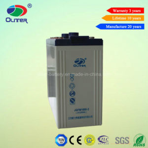 2V 1000ah Deep Cycle Solar Power Battery for UPS Sytem pictures & photos
