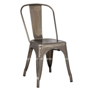 Simple Design Waterproof Industrial Vintage Collection Side Metal Tolix Chair pictures & photos