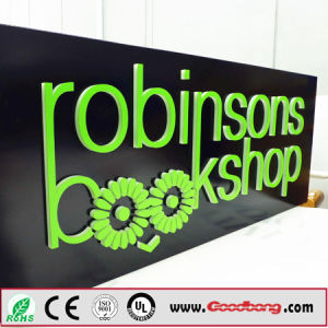 Outdoor Strong Huge Size Advertising Exterior Solid Shop Front Signages pictures & photos