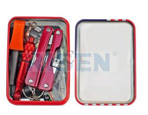 Mini Tin Box Survival Tool Camping Kit pictures & photos