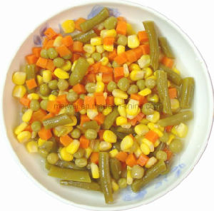 High Quality 5 Mixed Canned Mix Vegetables pictures & photos