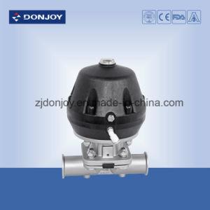 Ss 316L Pneumatic Diaphragm Valve with Mini C-Top Control Unit pictures & photos